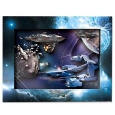 Объемный постер Звездный патруль от Vizzle