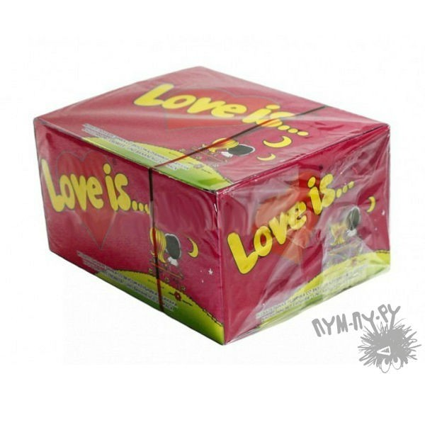 Жвачка Love is... (вишня-лимон)