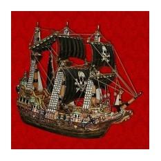 Подарочный штоф Пиратский Корабль