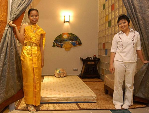 Thai-spa: королевский массаж