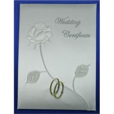 Папка для свидетельства о регистрации брака ручной работы