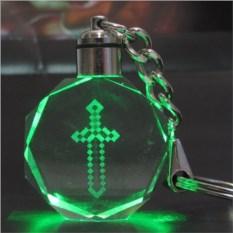 Брелок из Майнкрафт Светящийся кристалл - Меч