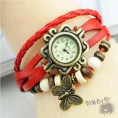 Кожаные часы-браслет Покахонтас