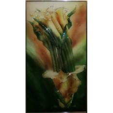 Картина с кристаллами Swarovski Каллы №4