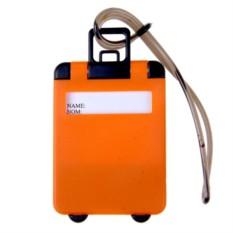 Бирка для багажа Orange