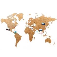 Реалистичный пазл мира True World Puzzle Brown
