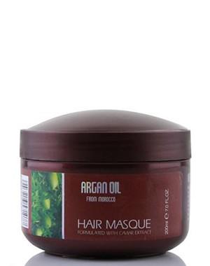 Восстанавливающая маска для волос с маслом арганы и кератином, Morocco Argan Oil