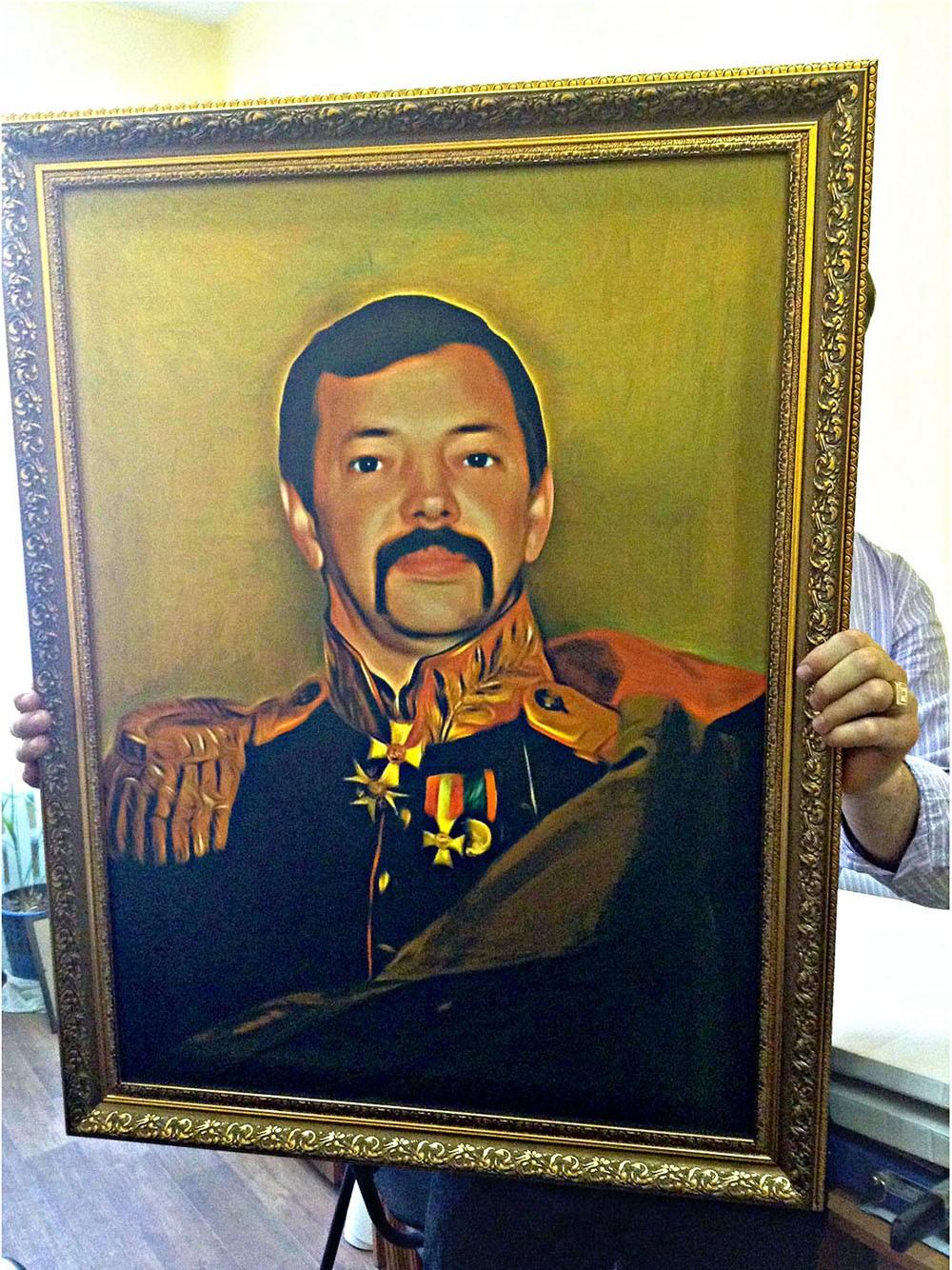 Портрет по фото в историческом образе (30x40 см)