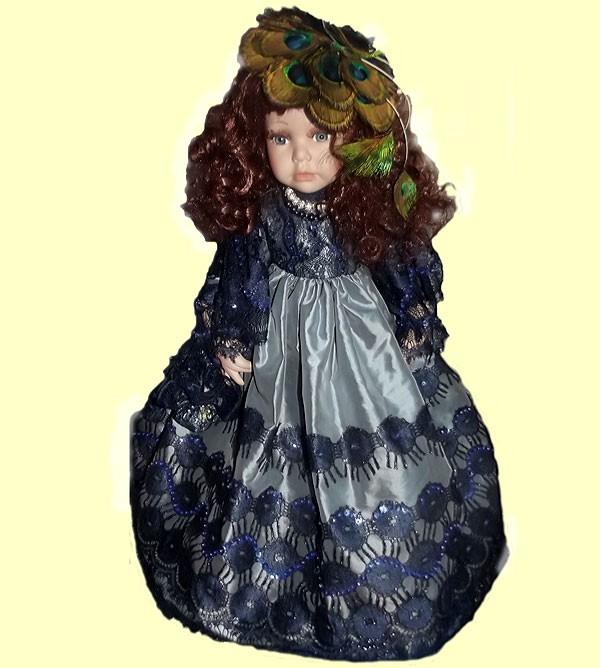 Немецкая фарфоровая кукла Герцогиня Амалия RF-COLLECTION