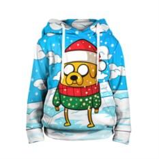 Детская толстовка 3D Джейк в свитере