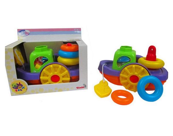 Набор игрушек для ванны Кораблик и кольца
