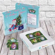 Шоколадный набор Дед Мороз со Снегурочкой