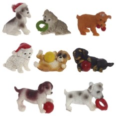 Декоративная фигурка Собака 8 видов