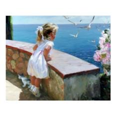 Алмазная вышивка «Счастливое детство» Владимира Волегова