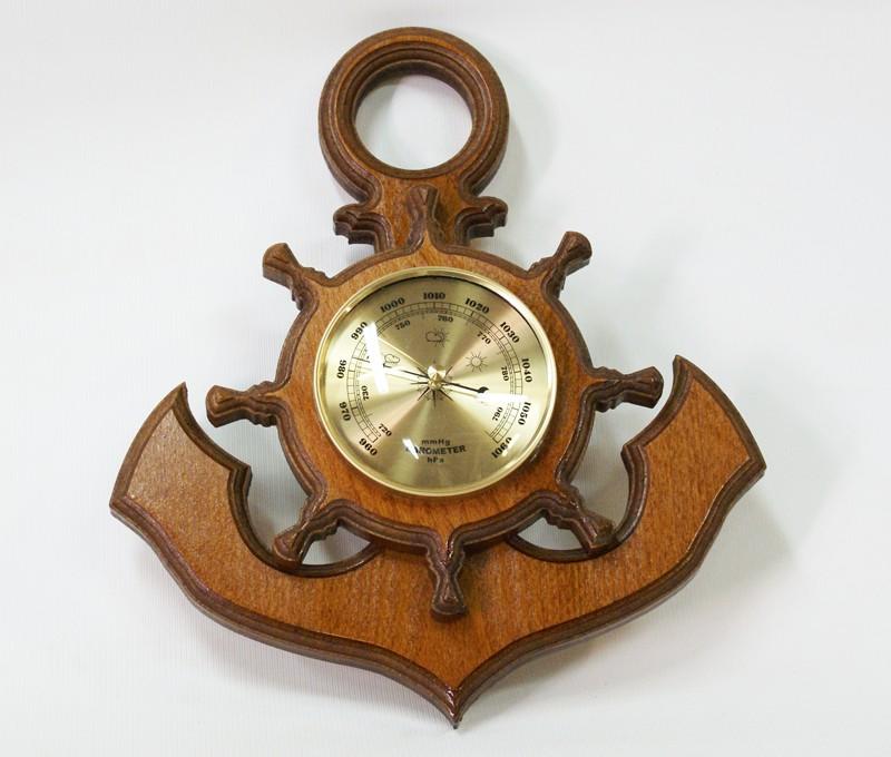 Декоративный настенный барометр - Якорь