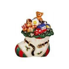 Шкатулка Носок с подарками