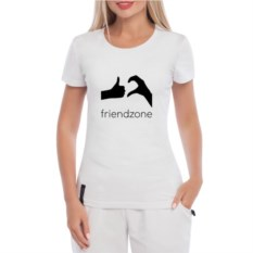 Женская футболка Friendzone