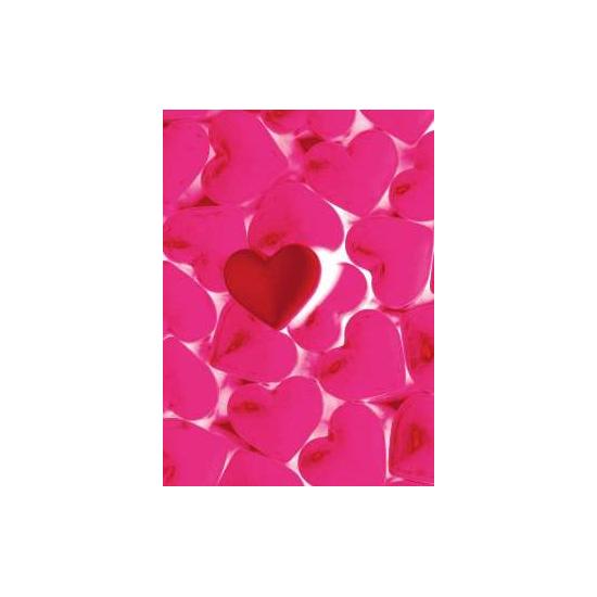 Открытка «Горячие сердца»