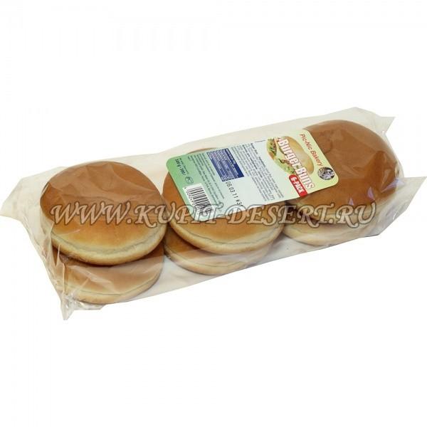 Булочки для гамбургера без кунжута SCHLEICHER QUICKBURY 300г