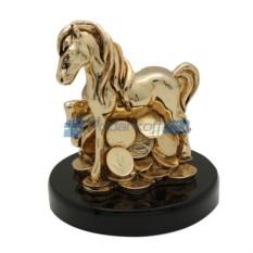 Статуэтка Золотая лошадка