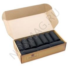 Подарочный кейс носков Бизнес, 10 пар, черные