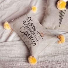 Подушка Здесь встает мое солнце