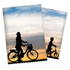 Обложка на паспорт с вашим фото «Яркая панорама»