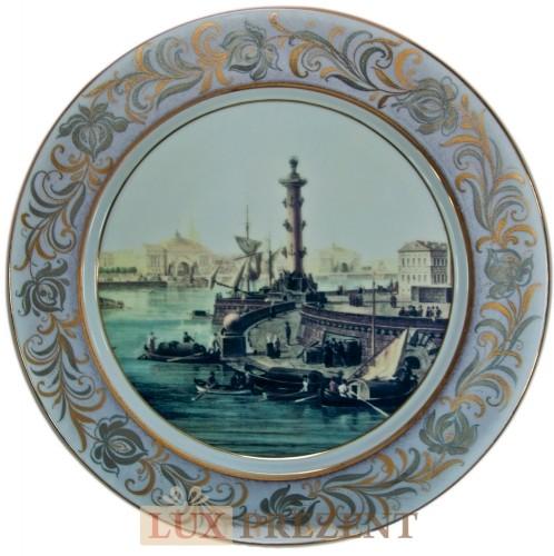 Декоративная тарелка Санкт-Петербург