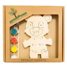 Развивающая игрушка Мишка 2 с красками