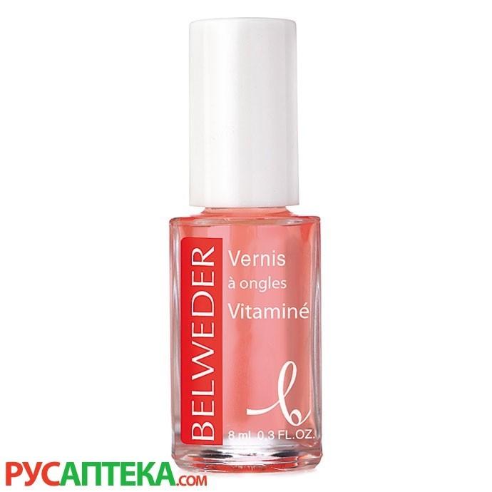 Лак для сухих и тонких ногтей с витаминами Бельведер