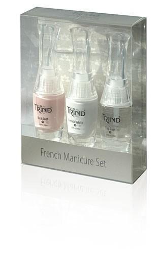 Набор для французского маникюра Trind, розовый