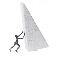 Скульптура «Сдвину горы» (Cleve)
