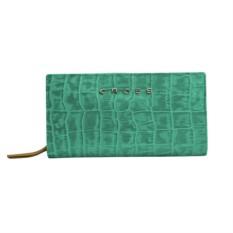 Зеленый с желтым клатч-кошелек Cross Bebe Coco
