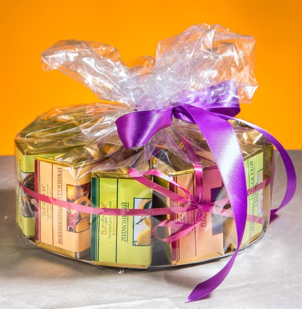 Подарочный чайный набор «Чайный торт» №3