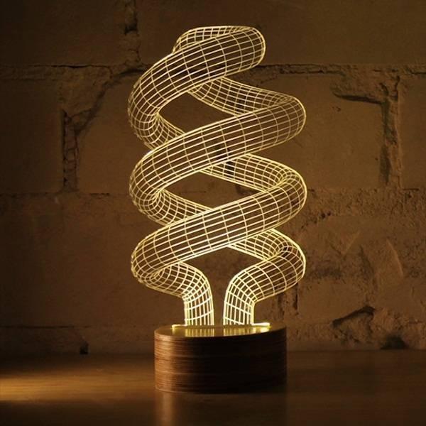 Светильник Спираль