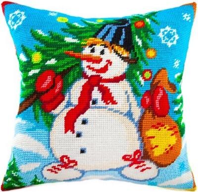 Набор для вышивания Снеговик-3