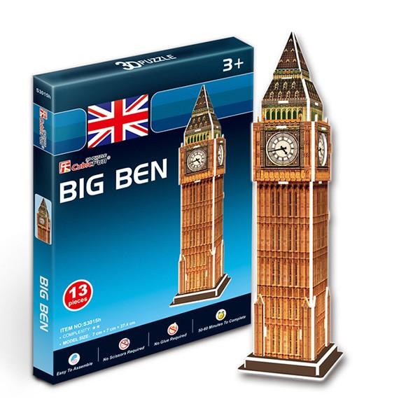 Пазлы Cubic Fun Биг бен. Великобритания