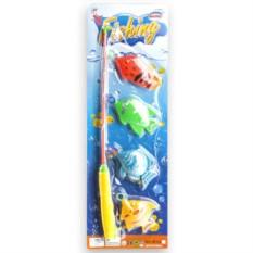 Детская игрушка с удочкой Рыбалка 4 рыбки Shantou Gepai