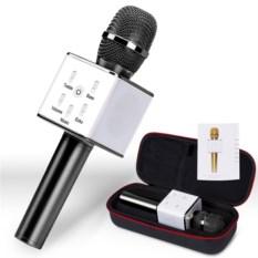 Беспроводной черный караоке-микрофон Q7