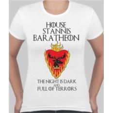 Женская футболка House stannis baratheon