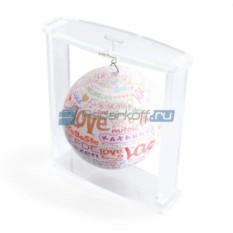 Глобус мобиле на подвесе I Love You