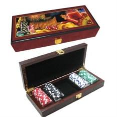 Набор настольных игр в шкатулке