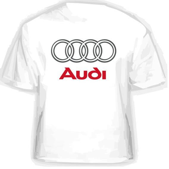 Прикольная футболка AUDI