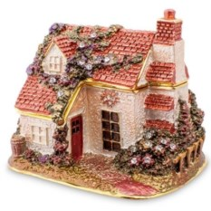 Шкатулка Рождественский домик от Nobility
