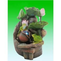 Декоративный фонтан Лягушки и лилии