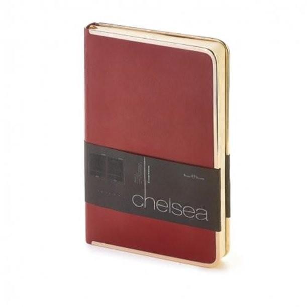 Бордовый недатированный ежденевник Chelsea