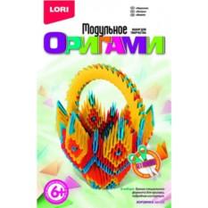 Набор для детского творчества Модульное оригами: корзинка
