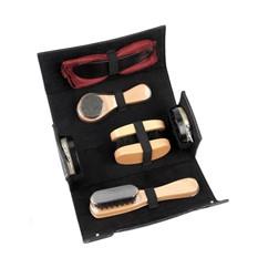 Набор аксессуаров для чистки обуви в футляре из 8 предметов
