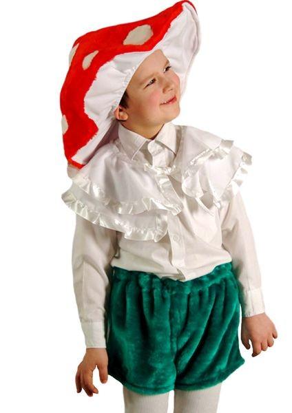 Карнавальный костюм Гриб, 3-7 лет