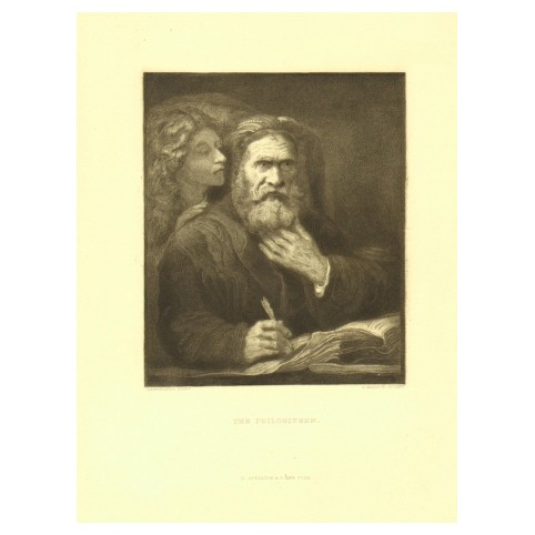 Гравюра «Евангелист Матфей (Философ)»